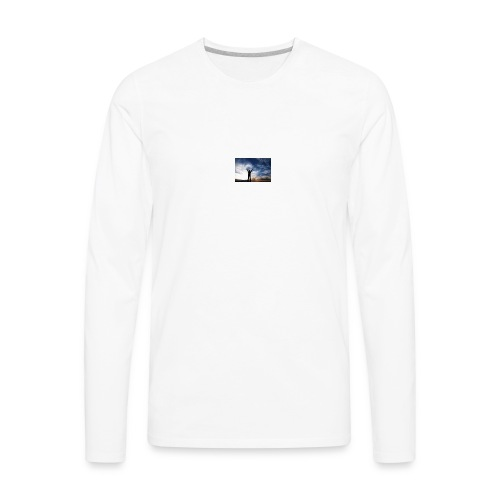 Reach Goals - Men's Premium Long Sleeve T-Shirt