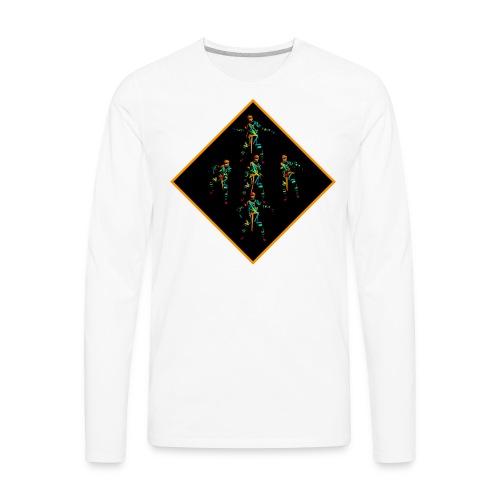 Dancing Rave Mummy - Men's Premium Long Sleeve T-Shirt