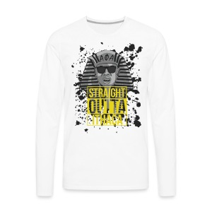 Straight Outta Ithaca - Men's Premium Long Sleeve T-Shirt