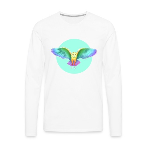TinyEllyOwl - Men's Premium Long Sleeve T-Shirt