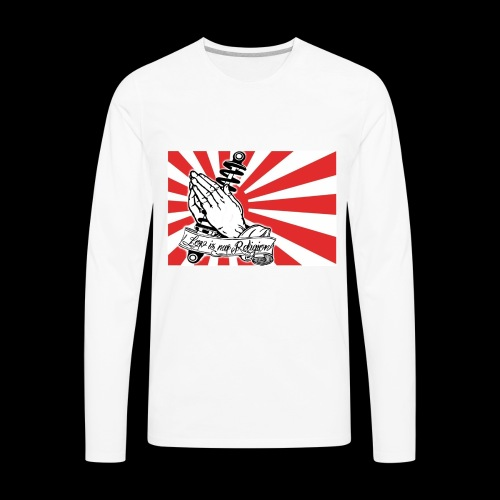 JDM-LowIsMyReligion - Men's Premium Long Sleeve T-Shirt