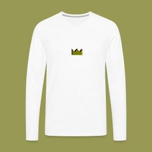 crowns - Men's Premium Long Sleeve T-Shirt