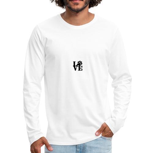 Puppy Love - Men's Premium Long Sleeve T-Shirt