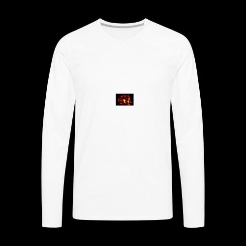 LUNA - Men's Premium Long Sleeve T-Shirt
