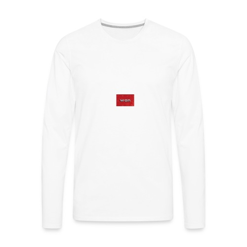 WAN - Men's Premium Long Sleeve T-Shirt