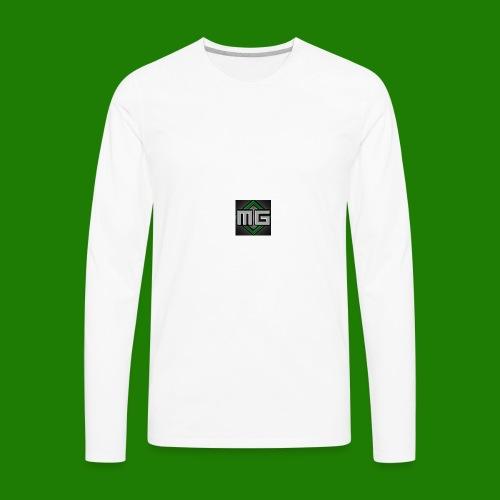 MrGreenGaming Logo Phone Cases - Men's Premium Long Sleeve T-Shirt