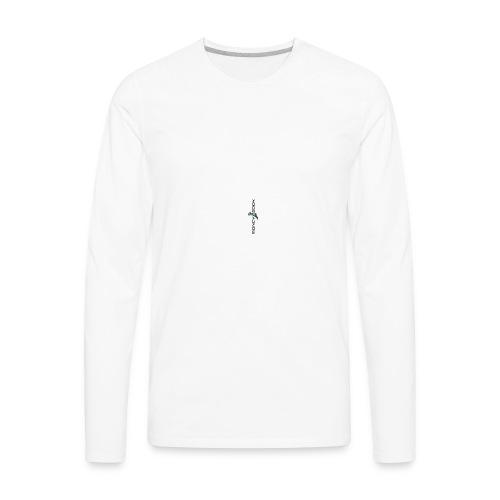 logo-black_PhoneCases - Men's Premium Long Sleeve T-Shirt