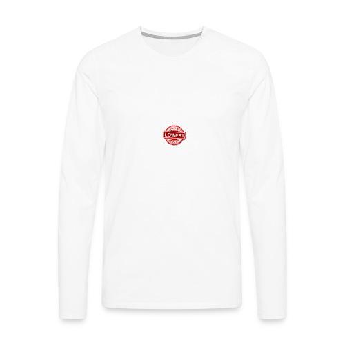 lowest price guarantee - Men's Premium Long Sleeve T-Shirt