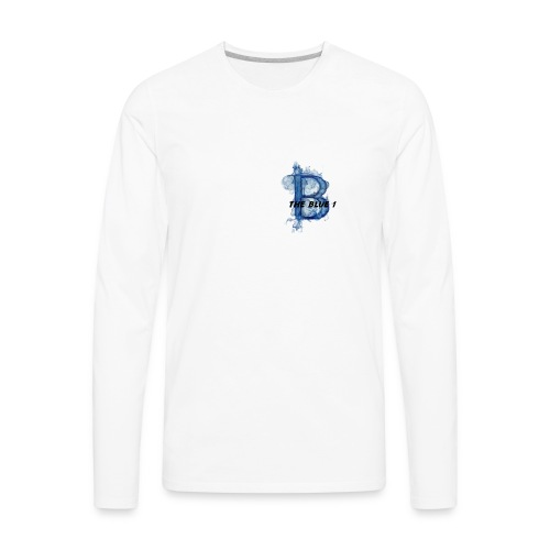 THE BLUE 1 - Men's Premium Long Sleeve T-Shirt