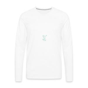 Eat My Ass Phone Case - Men's Premium Long Sleeve T-Shirt