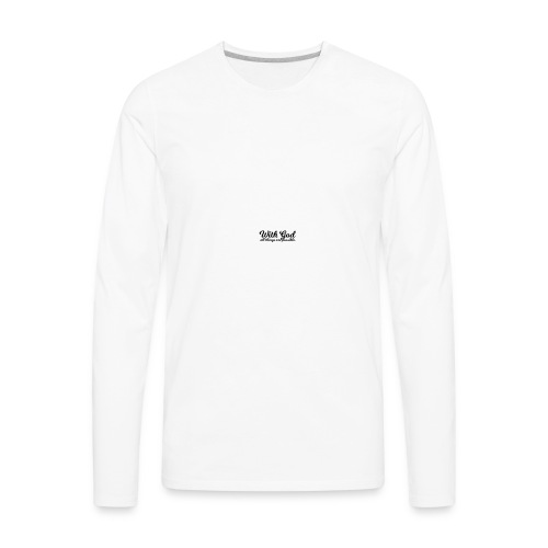 With God All Things Are Possible - Men's Premium Long Sleeve T-Shirt