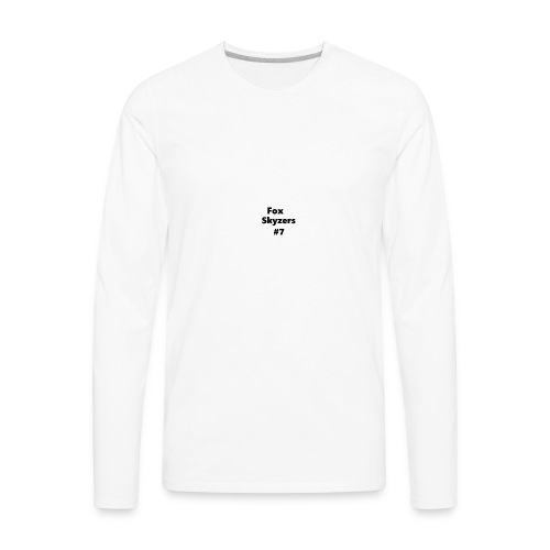 stealfox STUFF BOYS - Men's Premium Long Sleeve T-Shirt