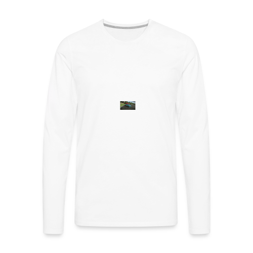 AE86 Drifting. - Men's Premium Long Sleeve T-Shirt