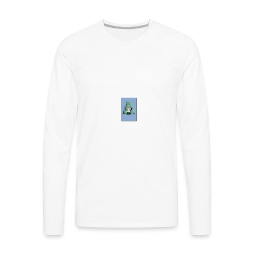 x ray hippo - Men's Premium Long Sleeve T-Shirt