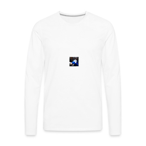 Kangaroo Tv Logo - Men's Premium Long Sleeve T-Shirt