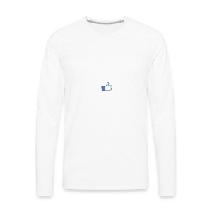 Like - Men's Premium Long Sleeve T-Shirt