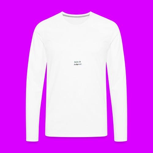 ipod touch ostrich box - Men's Premium Long Sleeve T-Shirt