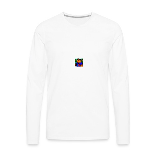 Isaac The Gamer - Men's Premium Long Sleeve T-Shirt