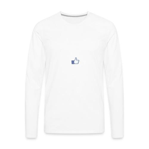 Like - Men's Premium Long Sleeve T-Shirt