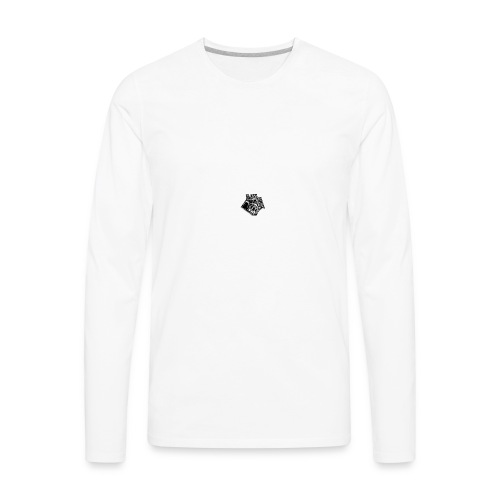 glass house logo - Men's Premium Long Sleeve T-Shirt