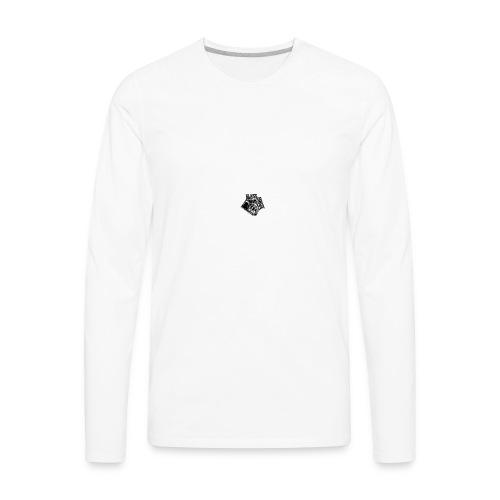 glass house logo - Men's Premium Long Sleeve T-Shirt