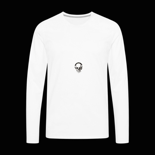 Yung J skull - Men's Premium Long Sleeve T-Shirt
