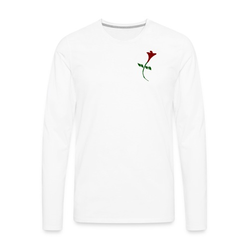Street Rose - Men's Premium Long Sleeve T-Shirt
