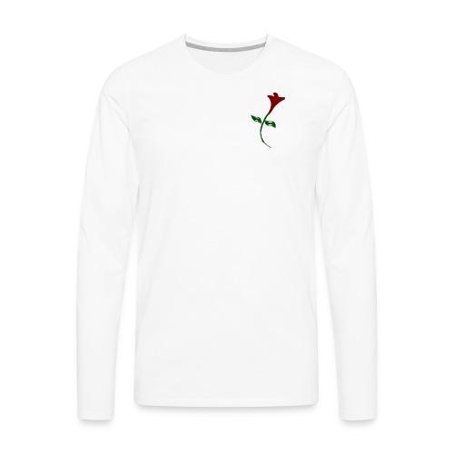 Street Rose - Men's Premium Long Sleeve T-Shirt