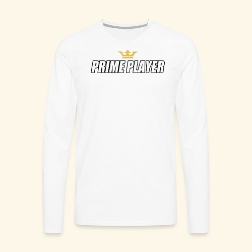 Prime player - Men's Premium Long Sleeve T-Shirt