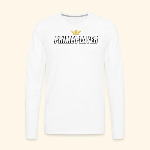 Prime player - Men's Premium Long Sleeve T-Shirt