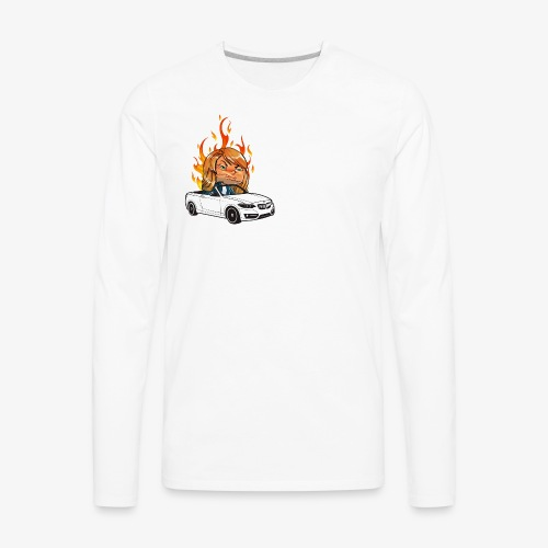 Angry Rage - Men's Premium Long Sleeve T-Shirt