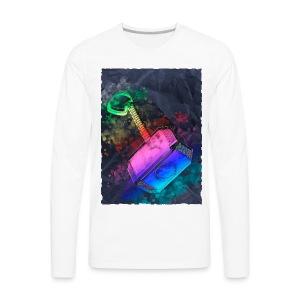 Mjöelnir - Thor's Hammer - Men's Premium Long Sleeve T-Shirt
