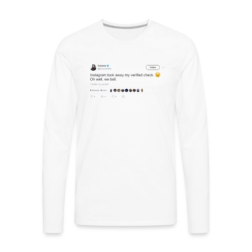 Connor L Miller - Men's Premium Long Sleeve T-Shirt