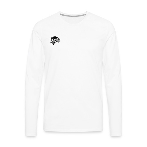 Cole Thompson Outdoors Logo - Men's Premium Long Sleeve T-Shirt