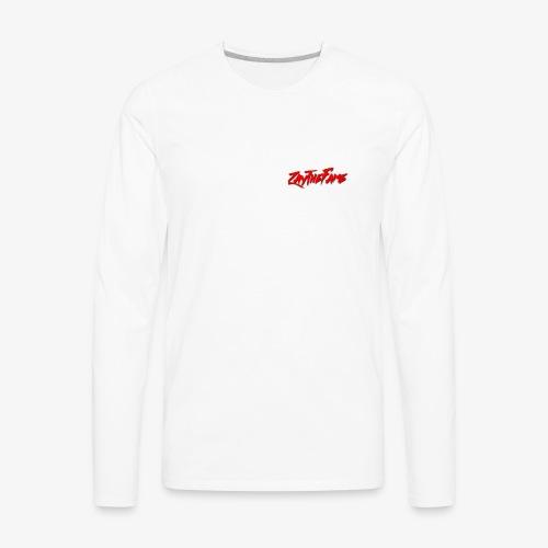 ZayTheFaME March - Men's Premium Long Sleeve T-Shirt