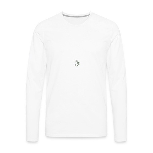 RJ logo homepage box - Men's Premium Long Sleeve T-Shirt