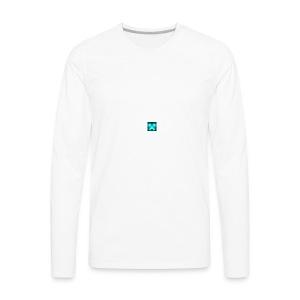 Its my channel logo - Men's Premium Long Sleeve T-Shirt