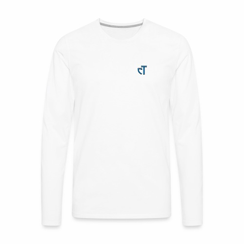 cT Signature - Men's Premium Long Sleeve T-Shirt
