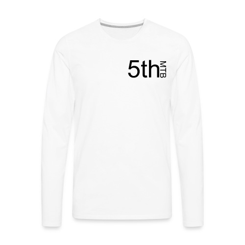 Black original logo - Men's Premium Long Sleeve T-Shirt