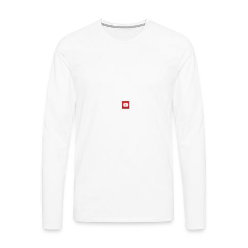 Youtube Shirt - Men's Premium Long Sleeve T-Shirt