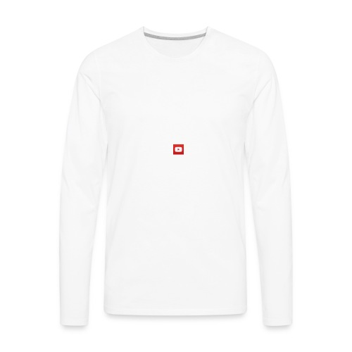 Youtube Shirt - Men's Premium Long Sleeve T-Shirt