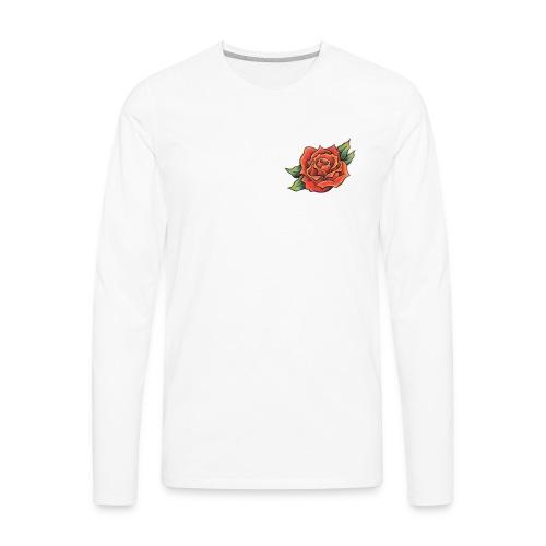 The rose - Men's Premium Long Sleeve T-Shirt