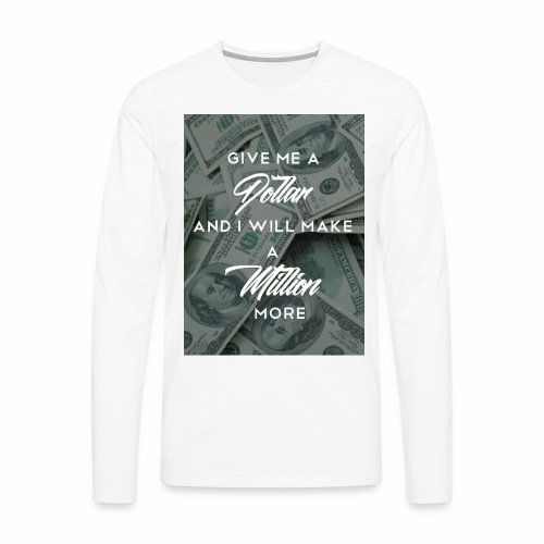 million - Men's Premium Long Sleeve T-Shirt