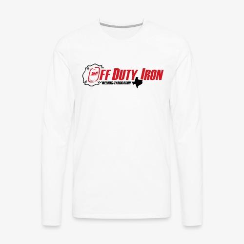 Off Duty Iron - Men's Premium Long Sleeve T-Shirt