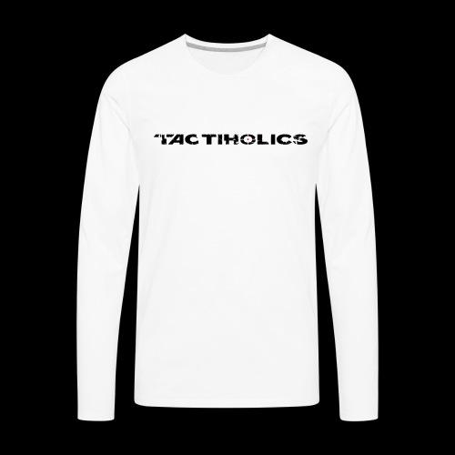 Tactiholics Black Logo - Men's Premium Long Sleeve T-Shirt