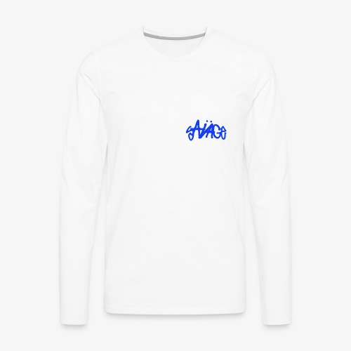 Savage Blue - Men's Premium Long Sleeve T-Shirt