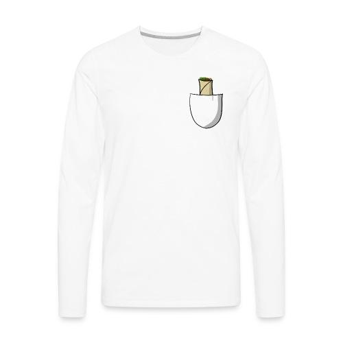 Pocket burrito - Men's Premium Long Sleeve T-Shirt