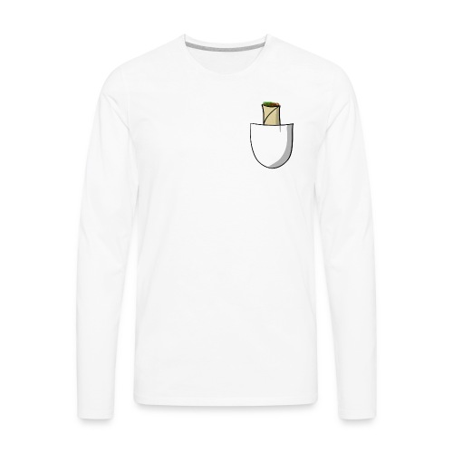 Pocket burrito - Men's Premium Long Sleeve T-Shirt