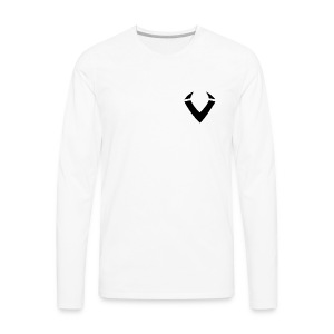 Vision Logo - Men's Premium Long Sleeve T-Shirt