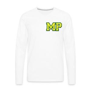 Mp Matthew playz logo long sleeve - Men's Premium Long Sleeve T-Shirt